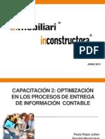 Capacitación 2 Optimización de Entrega de Informacion Contable Final Sec...