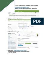 Penduan download jurnal internasional berbayar dengan gratis.docx