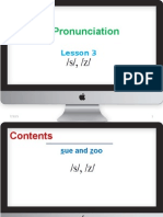 English Pronunciation-lesson 3
