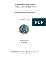 makalah perdagangan internasional