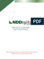 Manual de Instalacao Certificado Digital