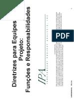 Leitura Complementar_Diretrizes Para Equipes de Projeto - Funcoes e Responsabilidades