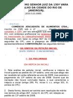 AULA DE PRÁTICA JURÍDICA IV - CONTESTAÇÃO - ANDERSON SILVA X COMÉRCIO ATACADISTA DE ALIMENTOS LTDA.pptx