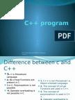 C++ program  lecture 1
