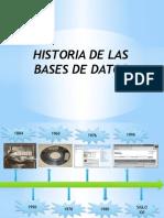 Historia de Las Bases de Datos