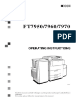 FT7900 series Operator manual