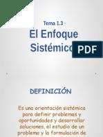El Enfoque Sistemico (Alberto)