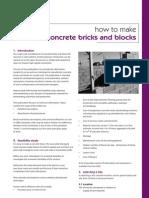 Concrete Bricks Blocks