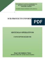 Sistemas Operativos (Conceptos Básicos)