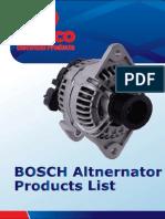 MARCO-BOSCH Altnernator Products List