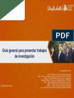 Guía General Para Presentar Trabajos de Investigación 2014