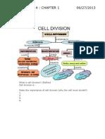2013 Biology Form 4 Notes