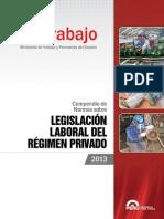 Compendio Normas Laborales a Octubre 2013