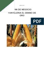 Proyecto Tortilleria