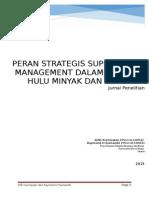 Peran Strategis SCM di Industri Migas