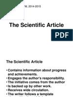 9-The Scientific Article