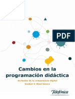 Cambios en La Programacion Didactica