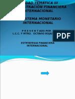 UNIDAD TEMÁTICA III  3.1. CORPORACIONES FINANCIERAS INTERNACIONALES