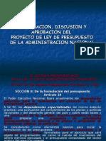 5.1 Formulación, Discusión y Aprobación Presupuesto