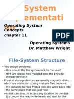 file system implementation ppt