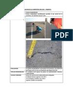 Evaluacion de La Carretera San Jose - Pimentel