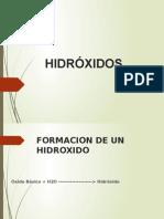 QUIMICA HIDROXIDO