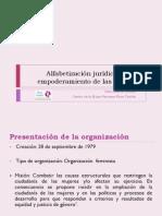 Alfabetización jurídica para el Empoderamiento de las Mujeres