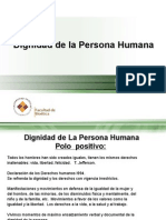 Dignidad de La Persona Humana