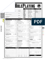Brp Auto Character Sheet