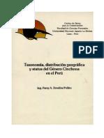 Genero Cinchona en El Peru