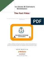 SEC, Udo Udoma & Corporate Governance - Fact File 1802
