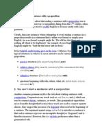 Myths About Grammar