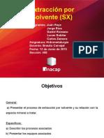 Extracción Por Solvente Presentacion 468
