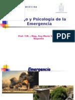 Manejo y Psicologia de La Emergencia