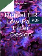 Digital FIR Low-Pass Filter Design by Yankee Bush Software LLC - 2015