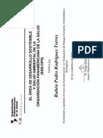 Evaluación de Riesgos Humanos Ambientales y Ecologicos OMS OPS Nov 2009