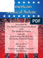4 Th July Program 2015