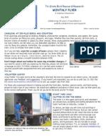 July 2015 Volunteer Newsletter