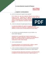 Practica Autoevaluación Avanzado de Finanzas Luis S. Polanco