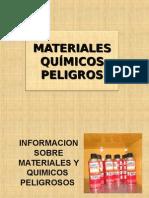 Materiales Químicos Peligrosos