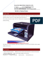 BE168-2.3 Flatbed Printer -Info
