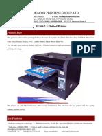 BE168-2.3 Flatbed Printer -Info
