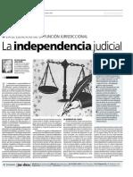 D La Independencia Judicial 120912