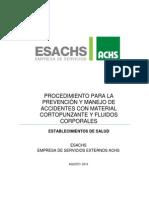 2014 Jes Vfinalprevención y Manejo de Accidentes Con Material Cortopunzante_mg Rev Final -