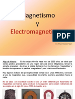 Magnetismo y Electromegnetismo