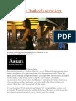 Prostitution Thailand's Worst Kept Secret