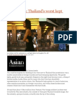 Thailand safe in prostitutes 15 Countries