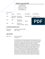 lowry starla - ngr 5884 curriculum vitae