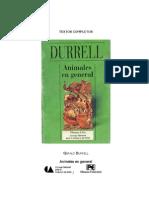 Animales en General, Durrel