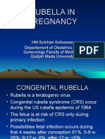 Rubella in Pregnancy